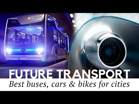 City Transport of the Future: 10 Best Concept Buses, Autonomous Cars and Foldable Bikes