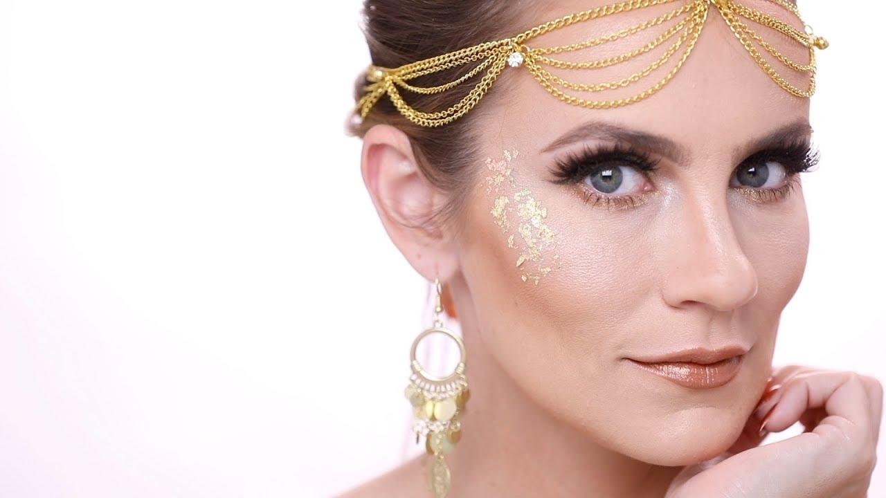 Golden Goddess Makeup