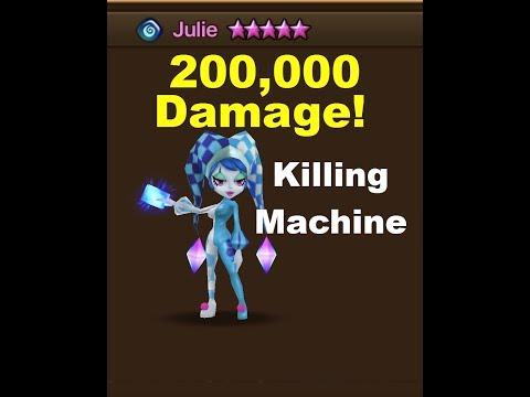 Summoners War : 201,000 Damage Julie - Spotlight