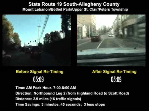 State Route 19 (South) SINC-UP Project (Allegheny County) AM Peak Northbound Leg 2
