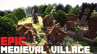 Epic Minecraft Medieval Village