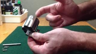 Ruger GP100 Cylinder Disassembly