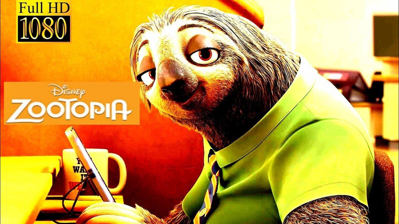 Download sloth scene | Zootopia (2016)