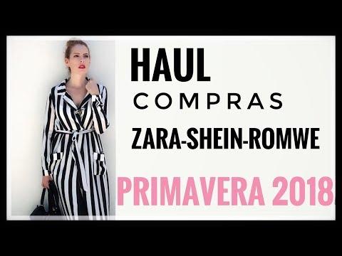 MODA: HAUL Y COMPRAS ZARA-SHEIN-ROMWE/primavera 2018