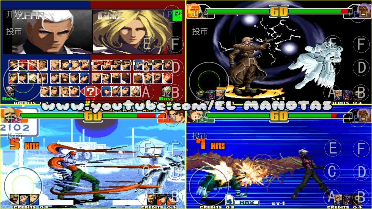THE KING OF FIGHTERS 2003 ULTRA PLUS SIMPLIFICADA PARA TIGER