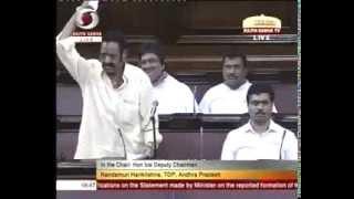 TDP MP Harikrishna speaking in telugu @Parliament