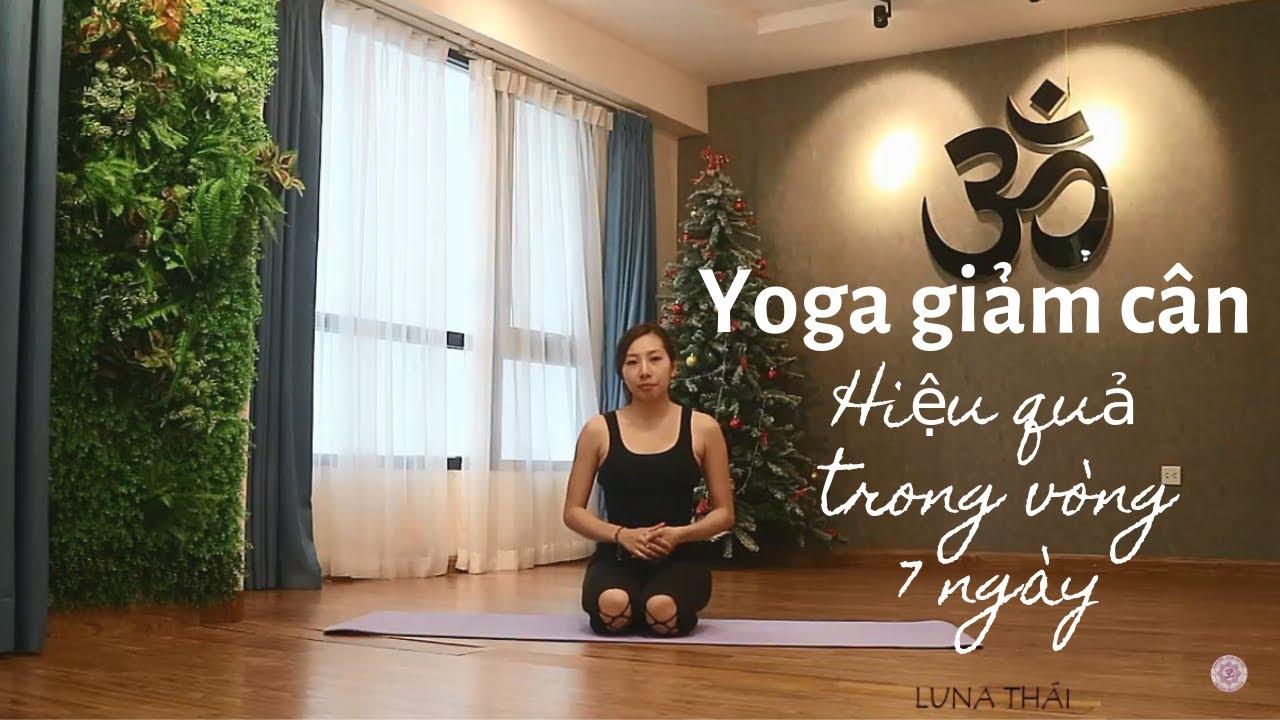 Bài tập Yoga giảm cân hiệu quả trong vòng 7 ngày