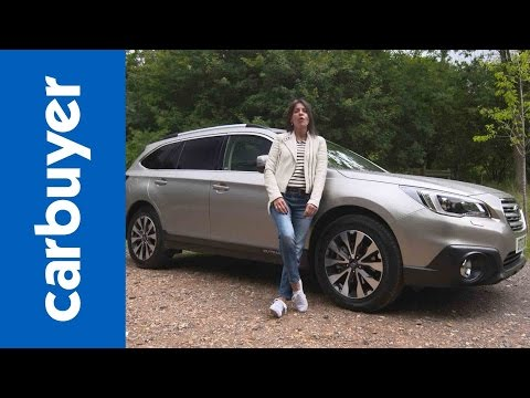 Subaru Outback 4x4 review - Carbuyer