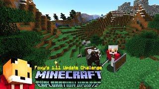 Minecraft 1.11 - EXTREME HILLS - Minecraft 1.11 Exploration Update Challange [1]