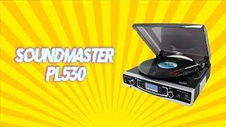 Обзор Винилового проигрывателья Soundmaster PL530
