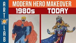 Redesigning Heroes I Drew As A Kid- Corridor