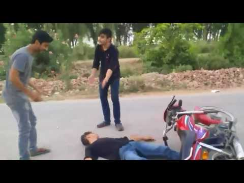 Brown people react to Accident | Umer Vlogs  | funny