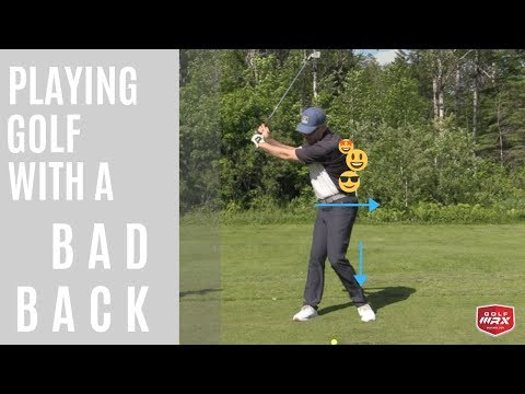 PLAYING GOLF WITH A BAD BACK-Shawn Clement-GOLF WRX