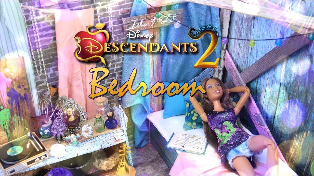 Diy How To Make Disney Descendants 2 Bedroom Isle Of