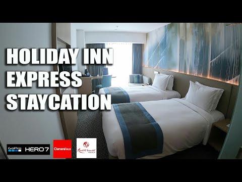 HOLIDAY INN EXPRESS HOTEL STAYCATION IN RESORTS WORLD MANILA (GOPRO HERO 7)