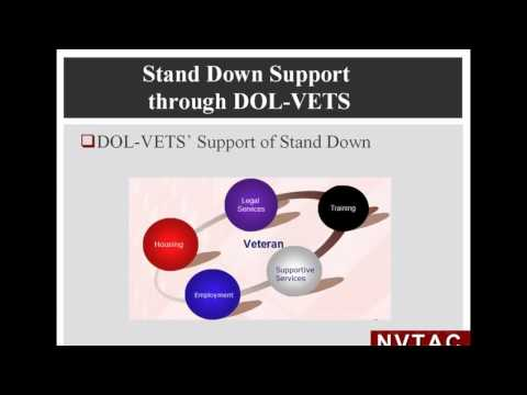 Webinar Stand Down Financing