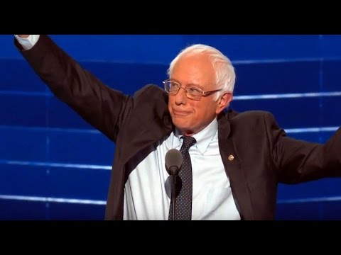 Full Speech Bernie Sanders at DNC. July 25, 2016. Democratic National Convention 2016. Philadelphia.