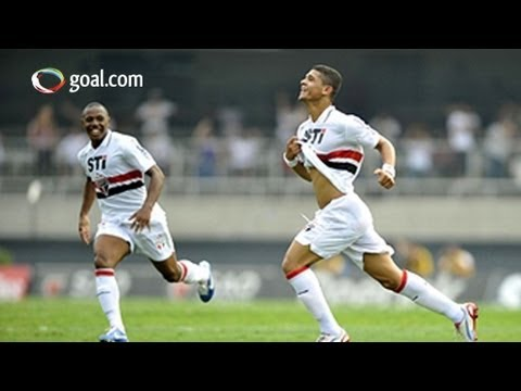 AMAZING goal! Denilson lashes one home from miles out