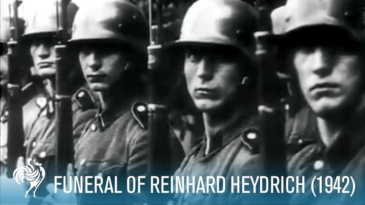 Funeral de Heydrich/homenaje por las noticias de la profanacion de su tumba.16/12/2019
