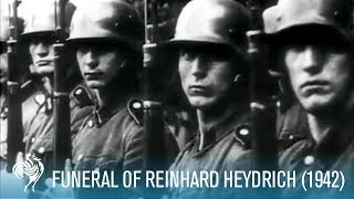 Funeral Of Nazi Ss Reinhard Heydrich Aka Butcher Of Prague 1942 | British Pathé
