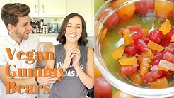 Vegan Gummy Bears | Eat Your Fruits and Veggies!