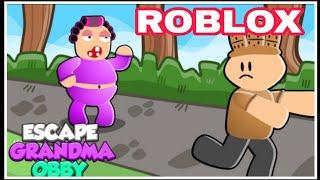 Ang bagsik ni Grandma | escape grandma obby | rjdab32| roblox