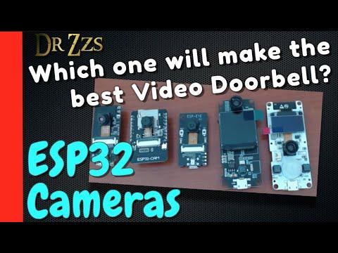 Comparing ESP32 Camera Dev Boards