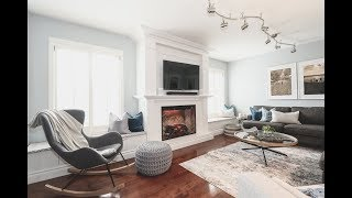 A functional yet inviting family room makeover