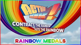 Action Henk - All Rainbow Medals