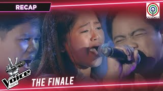 RECAP: The Journey to Finale | The Voice Teens Philippines 2020