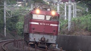 2017,08,19 JR貨物・JR九州 西日本鉄道 コンテナ貨物列車と特急電車・普通電車
