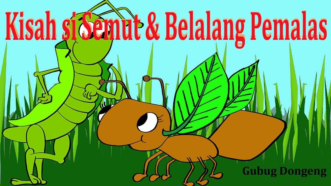 Kisah Si Semut Dan Belalang Pemalas Cerita Inspirasi Untuk Anak