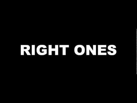 Right Ones (Lyric Video)