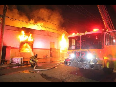 2nd alarm with special calls City of Chester commercial building fire
