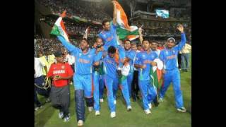 Indian Cricket team ( Indian Vs Sri lanka Final Match Highlights  in World Cup 2011)