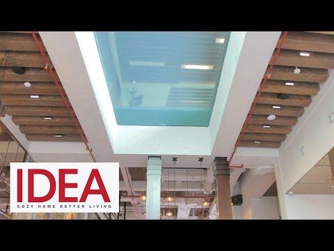 Bergaya Industrial Modern, Hotel Ini Miliki Transparant Pool Pertama Di Indonesia