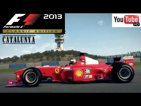 F1 2013 Classic: Ferrari F399 (Eddie Irvine) @ Catalunya (50% Race Distance)