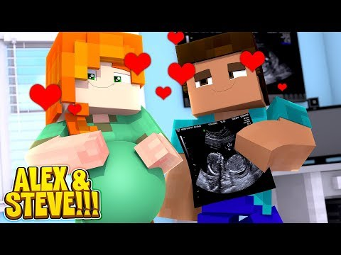 Minecraft LIFE OF ALEX & STEVE || ALEX AND STEVE ARE HAVING A BABY!!!