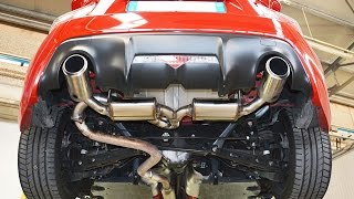Toyota GT86 sound with performance exhaust by Supersprint (headers, decat)