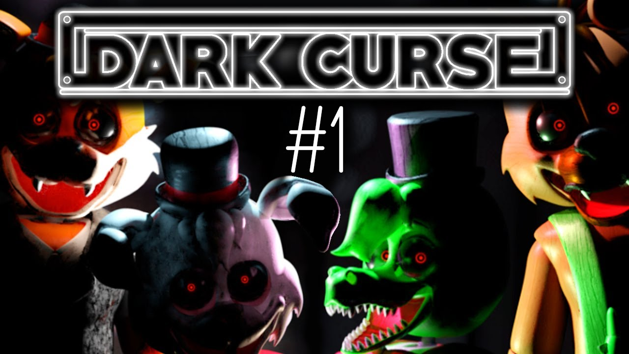 Un FAN GAME de FNaF en ESPAÑOL (Terrorífico)!!! | Dark Curse #1 - GG Games