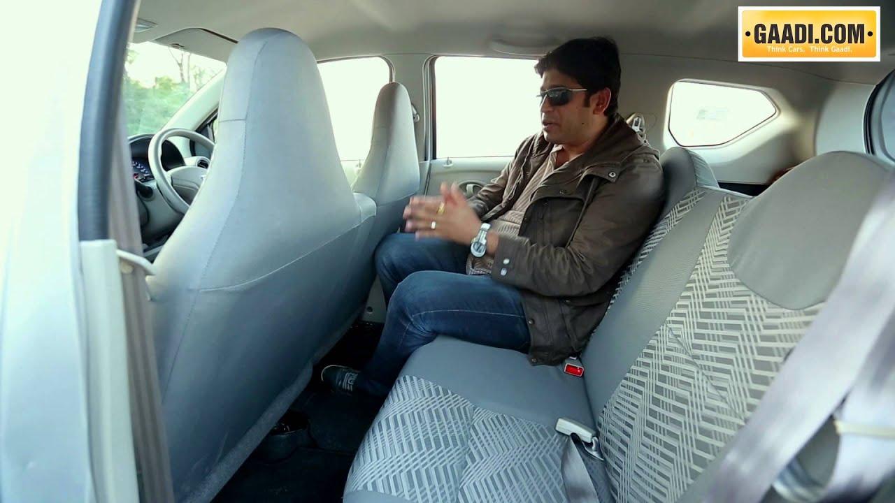 Datsun Go Interior Review Youtube