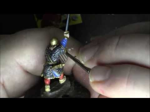 SAGA Gripping Beast 28mm Anglo-Saxon Warlord Part 2: Painting