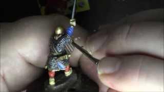 SAGA Gripping Beast 28mm Anglo-Saxon Warlord Part 2: Painting