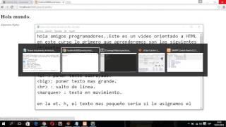 Iniciando en html