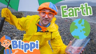 Blippi Learns About The Weather Educational Videos For Kids