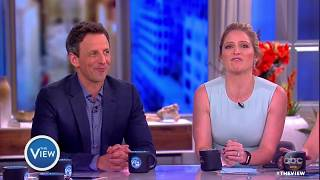 Seth Meyers Plays 'Poli-Tick Tock,' Talks Family, Kellyanne Conway | The View