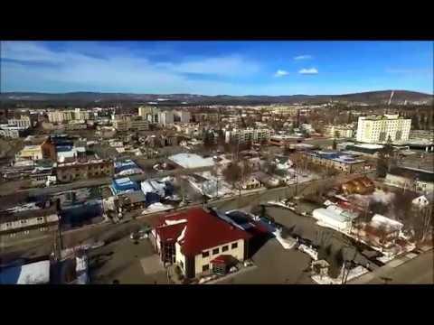 FAIRBANKS ALASKA Drone Life