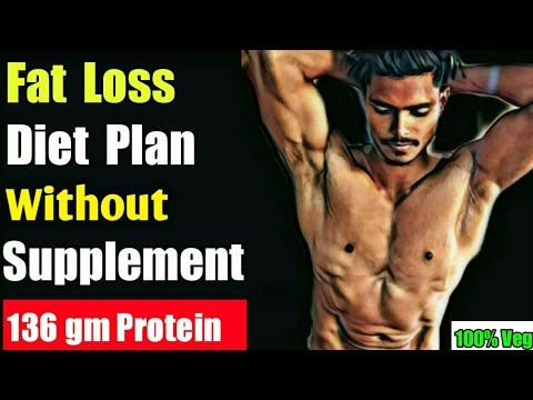 Fat Loss Diet For Men Hindi :-Without Supplement | Vegetarian  ( 2020 )