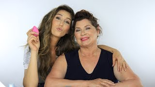 BEAUTY WORKOUT ♥︎ Doing my Moms Makeup