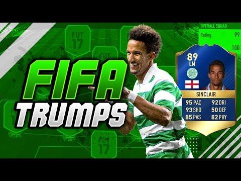 EPIC TOTS SCOTT SINCLAIR FIFA TRUMPS vs MATTHD!! (FIFA 17 TOTS TRUMPS)